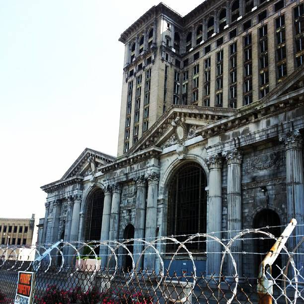 Michigan Central Station in Detroit from my visit in 2013.