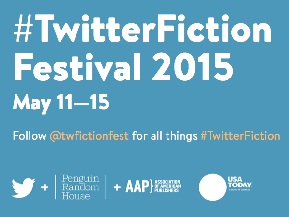 Twitter Fiction Festival 2015 logo and sponsors