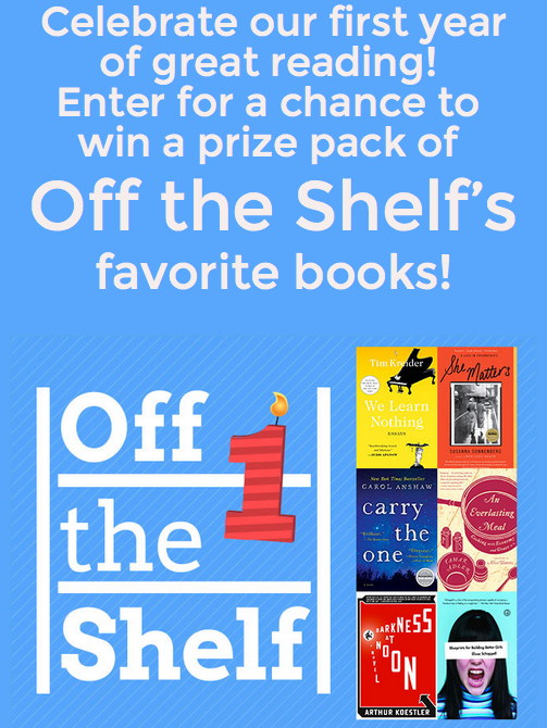 Off the Shelf giveaway image